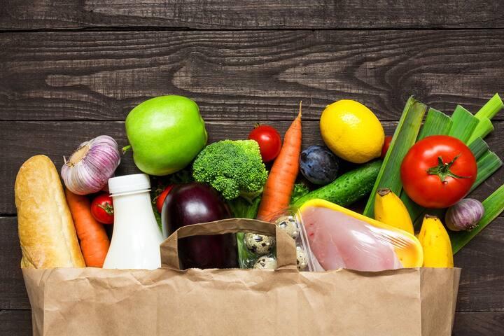 Indkøb af dagligvarer - Grocery shopping
