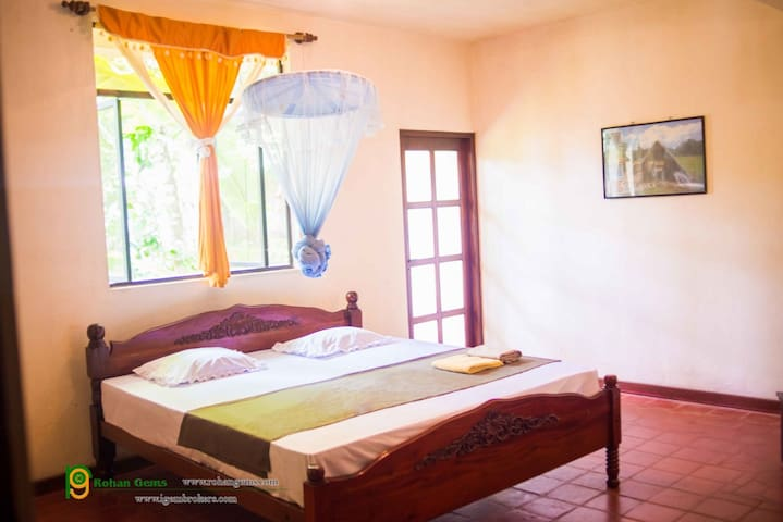 A/c room, 5min walk to city centre - Ratnapura