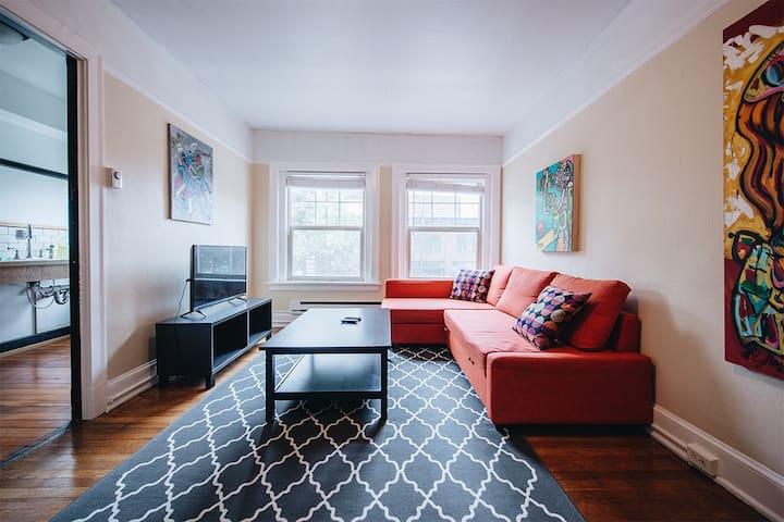 Amazing 1 bedroom, Heart of Seattle!!!