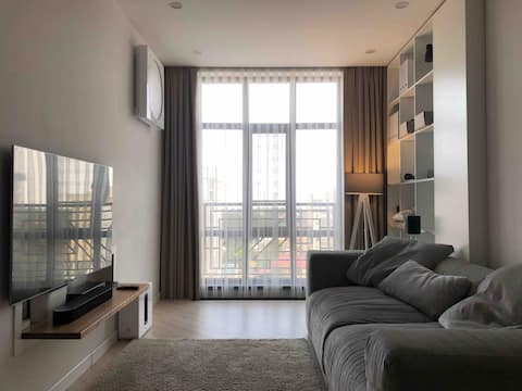 Stylish and comfortable 1-bedroom apartment