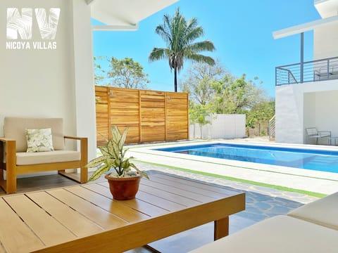 New Nicoya Villas 1 Рядом с пляжем