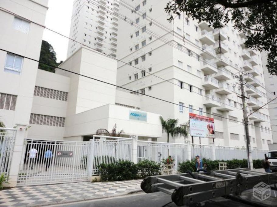condominium - street front view