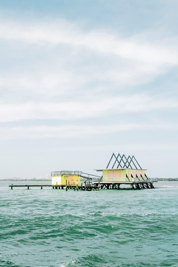 The legendary stiltsville