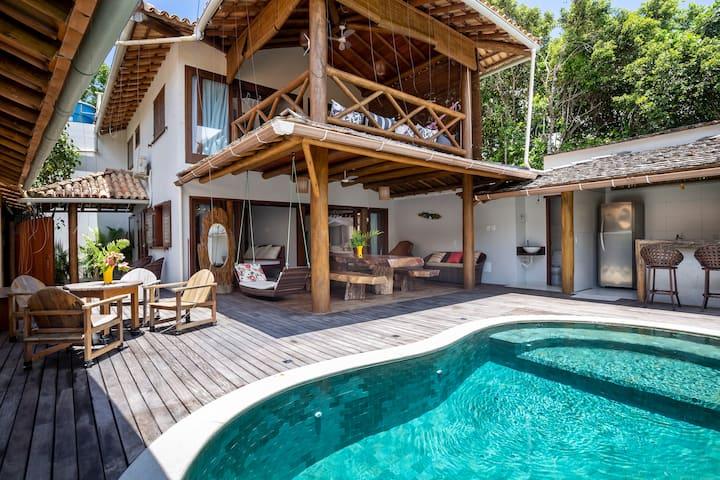 Casa com Piscina em Trancoso próxima a Praia