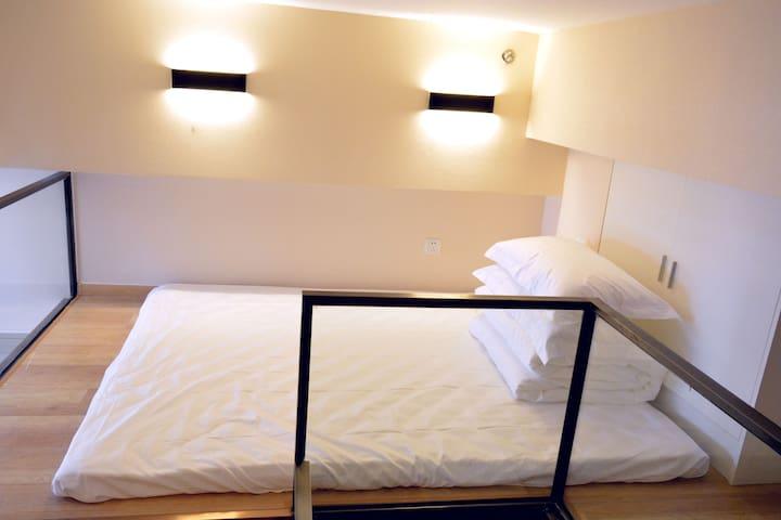 生物医药基地站走路两分钟温馨情侣套房 - Pekin - Apartament