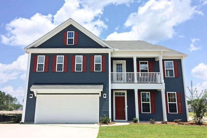 NEW! Prime 5BR Summerville Home By Beidler Forest!