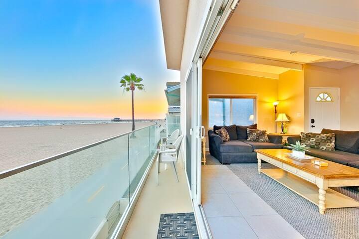 Catalina Island Views- NewPort Beach boardwalk