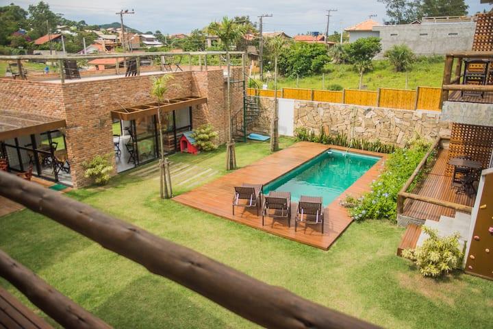 Apartamento Loft Rosa Tropicalia