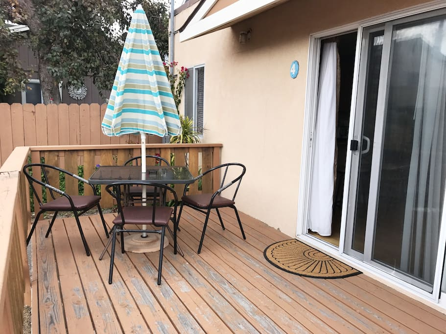 Back Unit Patio