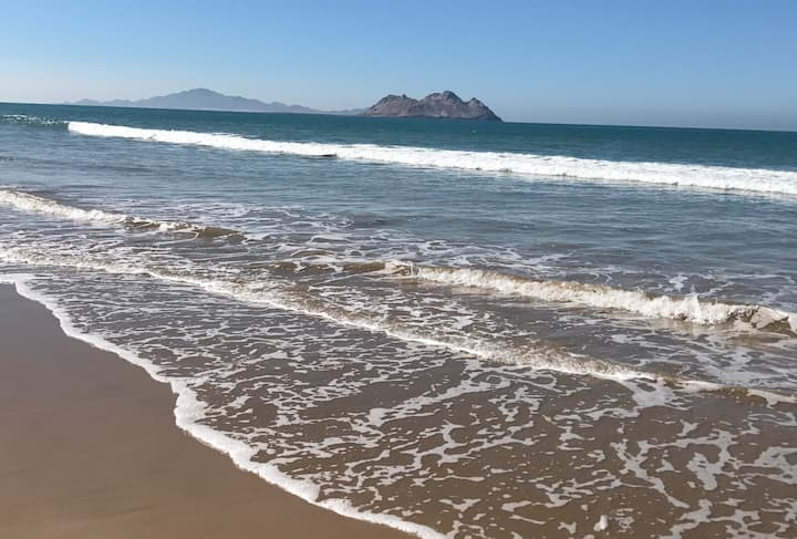 Casa Renta Frente a la Playa - Bahia Kino