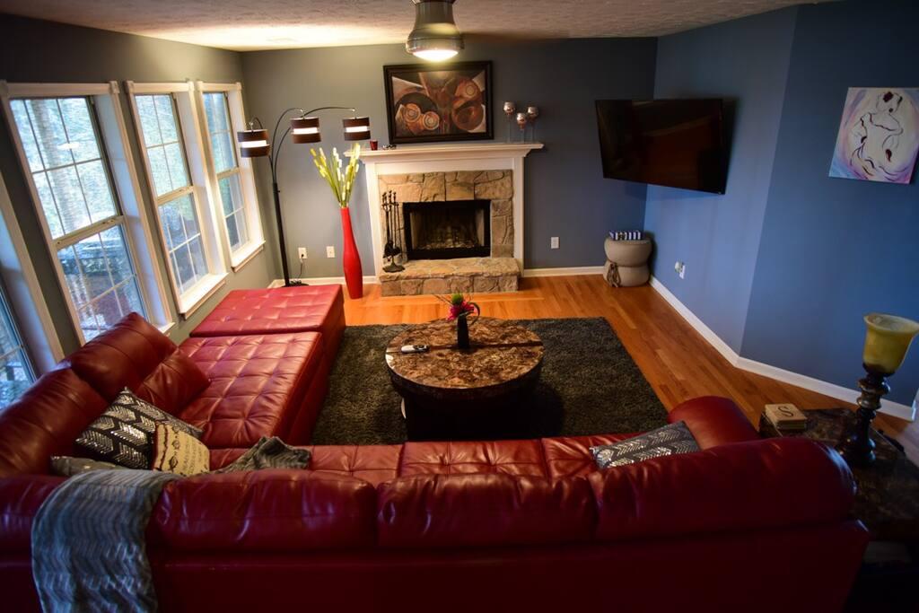 """Living room - main level"""
