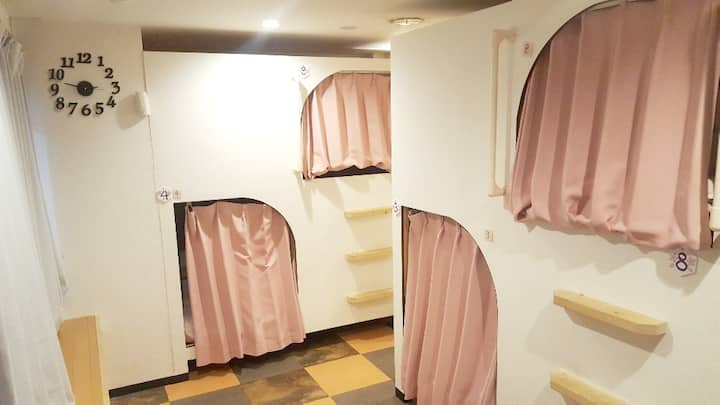 F2) For FEMALE dormitory Shinjuku in guest house