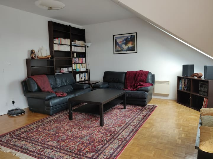 Appartement lumineux 2 chambres 70m2 T3