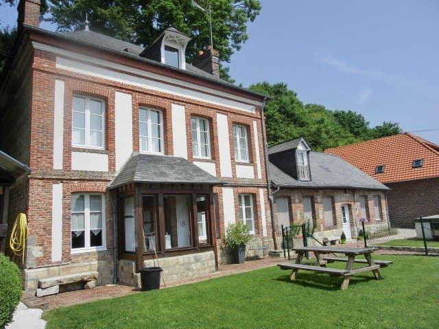 maison de chounette - Fontaine-le-Dun - 단독주택