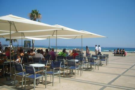 CANET BEACH F2 SEA VIEW TERRACE IN TURISTIC CITY - Canet-en-Roussillon - Lägenhet