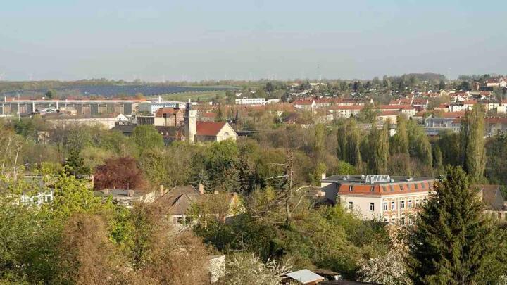 Ganze Wohnung mit Blick über die Stadt Zeitz
