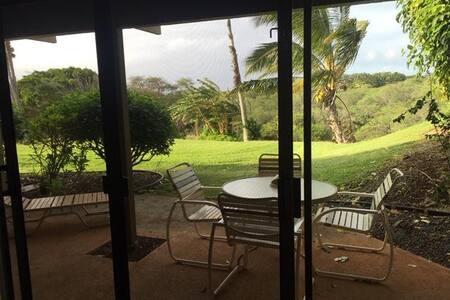 Beautiful one bedroom garden view condo