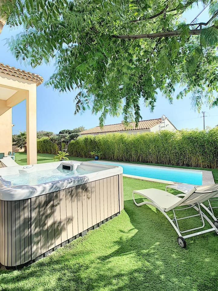 Villa de prestige dans le golfe de Saint Tropez