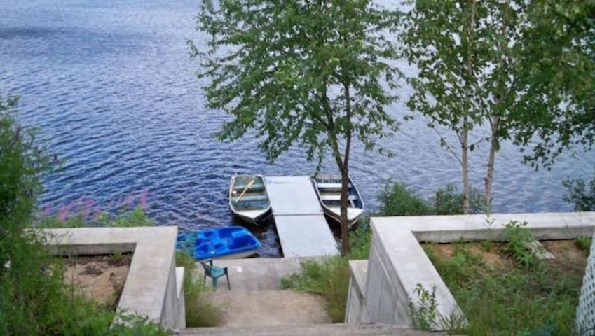 Cottage for rent in beautiful lake - Saint-Zénon - Chalé