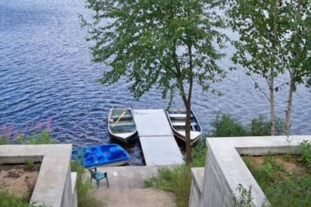 Cottage for rent in beautiful lake - Saint-Zénon - Chalet