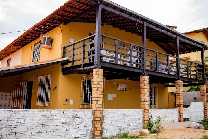 Casa Rústica na Praia do Coqueiro