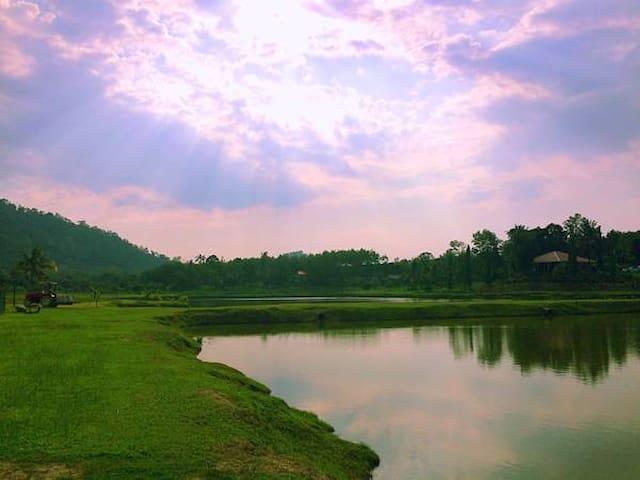 Kampung Bongsu Farmstay - Lanchang - Willa