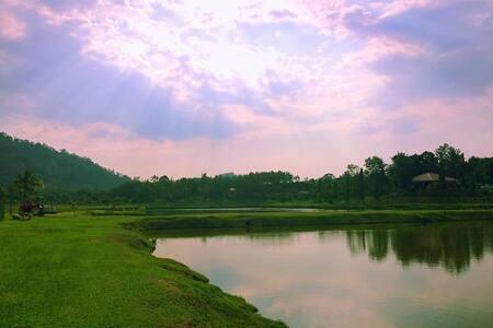 Kampung Bongsu Farmstay - Lanchang - วิลล่า