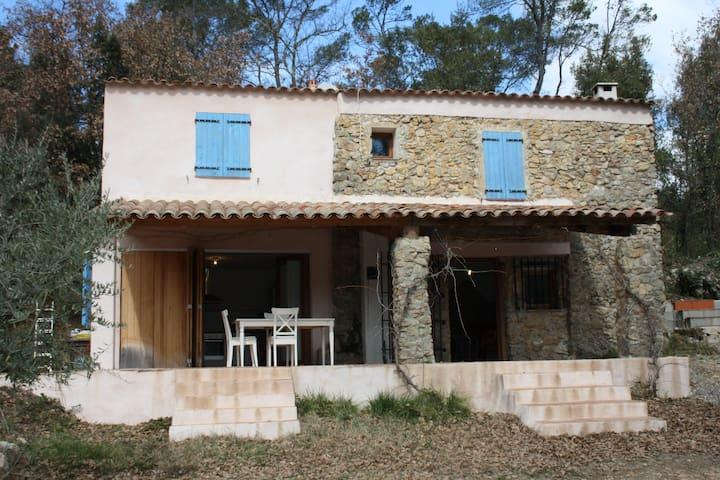 Cottage in beautiful village of Entrecasteaux - Entrecasteaux - House