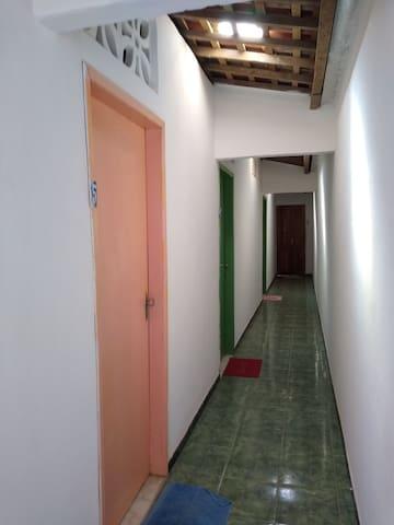 Apartamento no centro de pontas de pedras