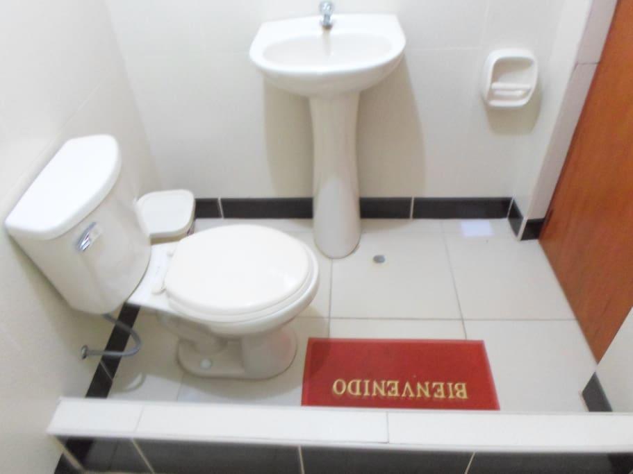 baño privado habitaciones