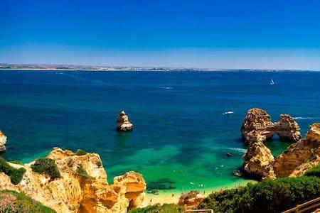 Appt 2 chambres - piscine - Algarve - Guia - Apartament