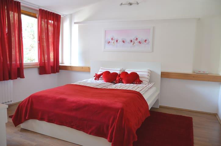 Romantic room, b&b, guesthouse Soul Ljubljana - Lubiana - Bed & Breakfast