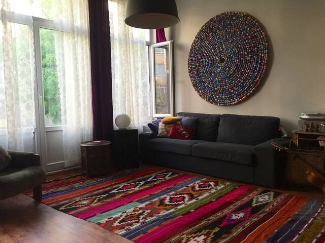Cosy artist flat in the heart of Moda Kadikoy