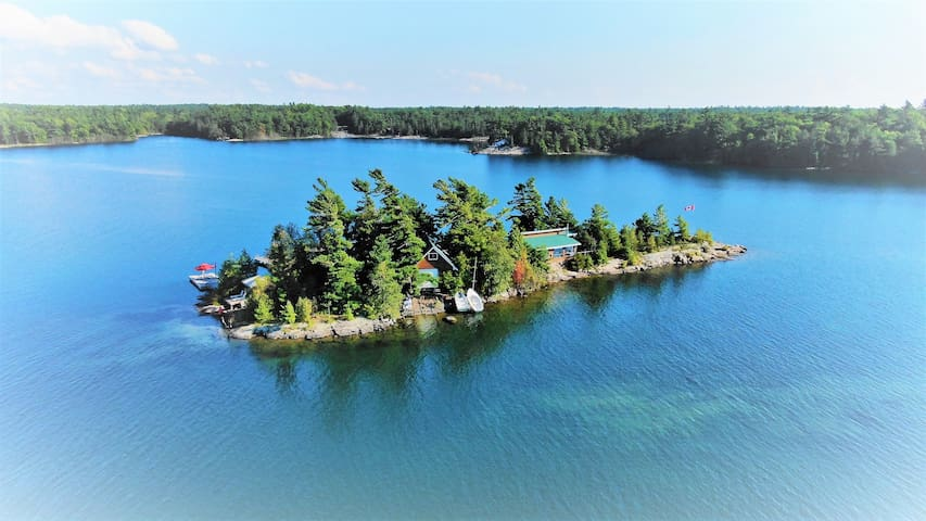 Private Island cottage Paradise -  in Georgian Bay