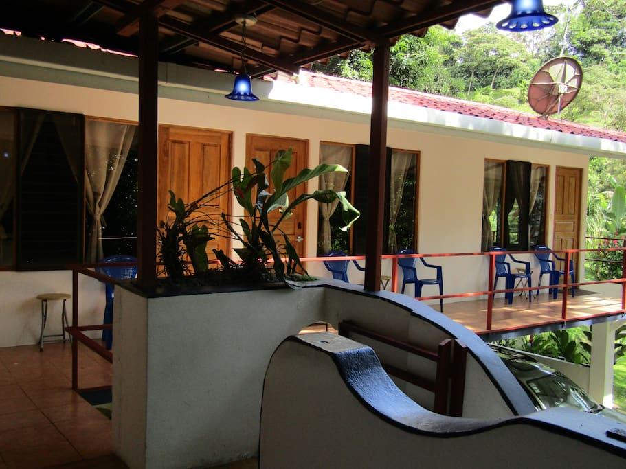 Rooms balcony