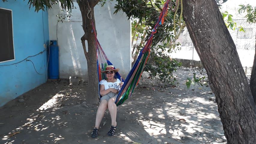 Casita playera en El Ticuiz, paraíso de Michoacán