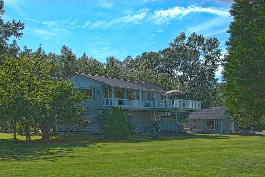 Maplehurst farm guest house case in affitto a mount for Piani di casa con guest house annessa