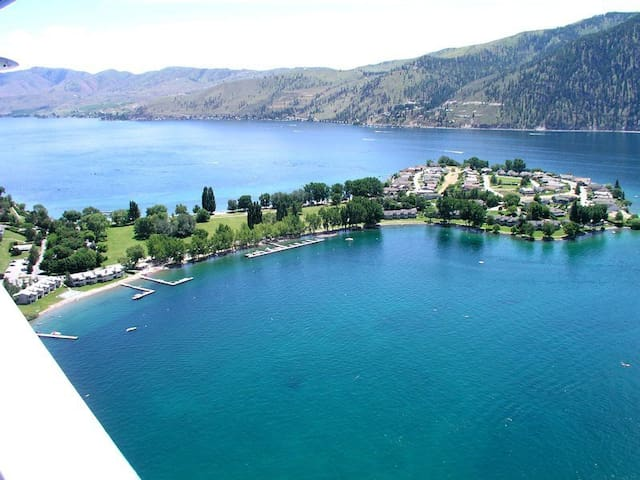 Wapato Point Resort on Lake Chelan