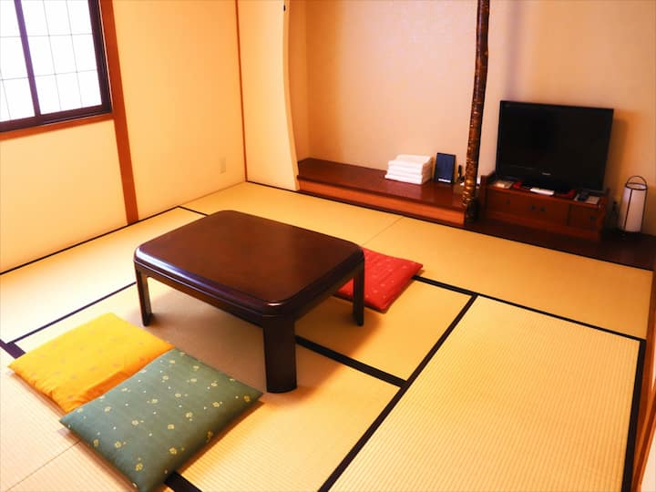 Japanese style room with Private bathroom (Hostel)