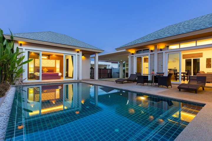 Wonderful BOUTIQUE VILLA, Pool, 3-Bedrooms, Rawai