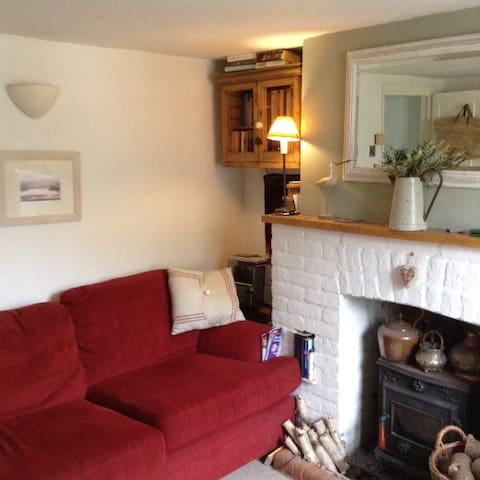 small centrally located period cottage with garden - Winchester
