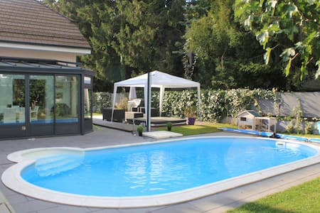 Beautiful house near Geneva, with swimming pool, - Collonge-Bellerive - Rumah