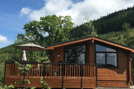 Balquhidder Mhor Log Cabin with Hot Tub and Patio - 斯特靈(Stirling)