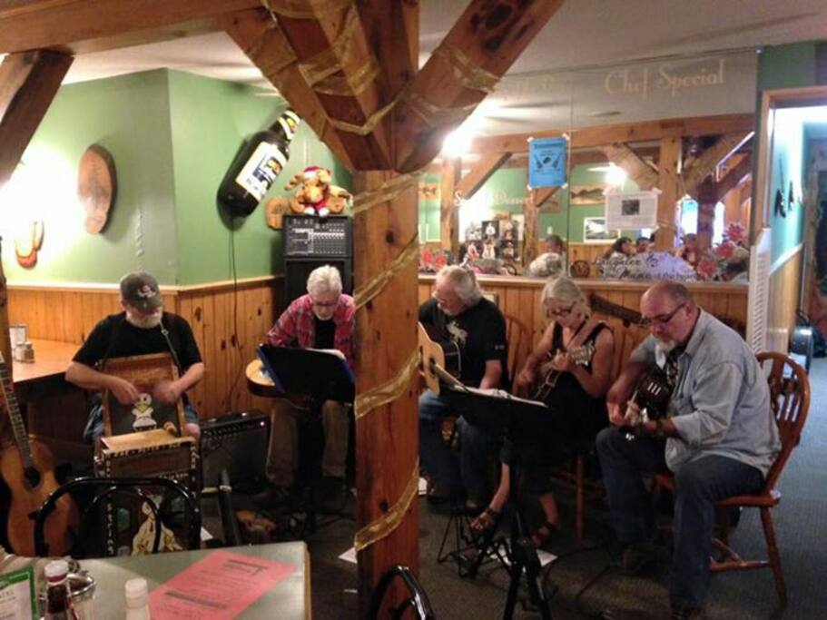 Music Night every Saturday in July and August from 5pm until 9pm in our dining room.