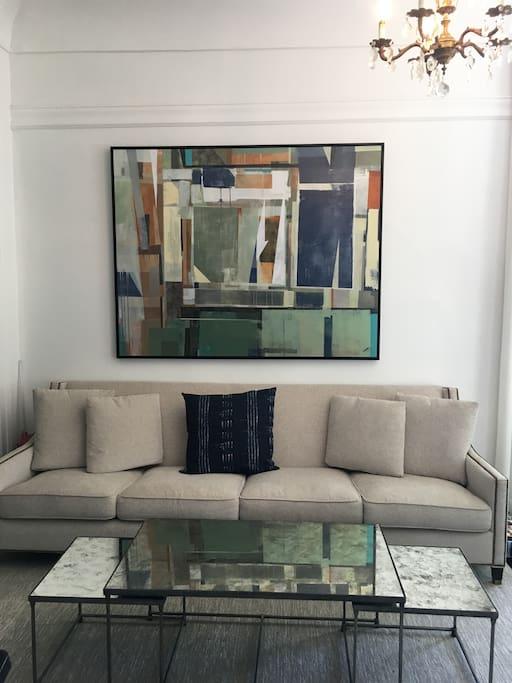 Sitting Room + TV