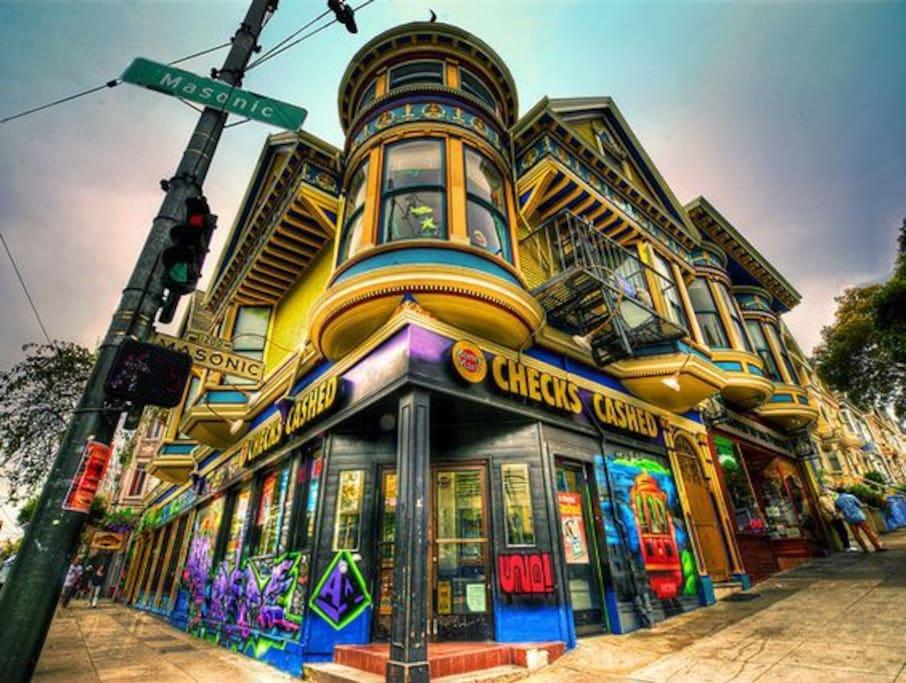 Eyecatching Architecture surrounding neighborhoods