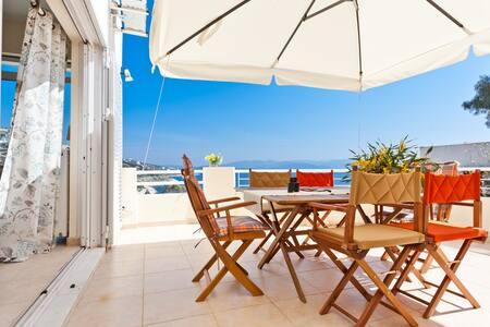 Seafront luxury apartments Marathon - Dikastika - Apartament