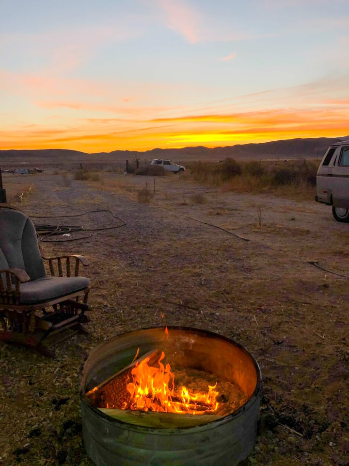 Camp under the stars at Coyote Ranch