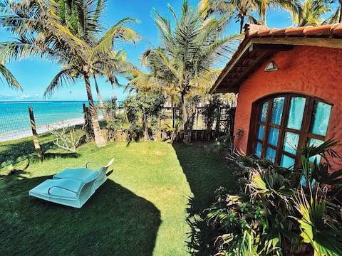 Suíte Padang c/ VISTA PRO MAR - Cabana Bali Villa