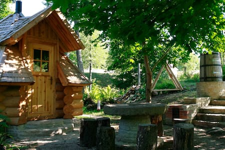 Oandu Watermill Island cabin,Lahemaa National park